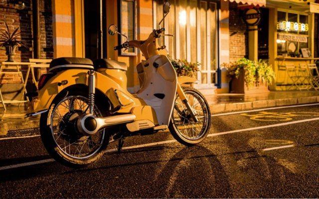 森蓝 新能源摩托车 B1蓝调