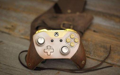 拔枪吧!Xbox推荒野大镖客定制手柄,全是信仰!