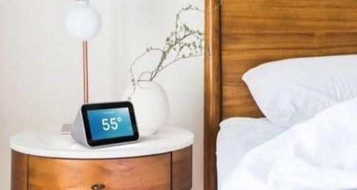 「新東西」內置Google智能助理,聯想智能時鐘開售