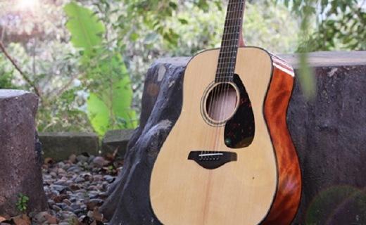 雅馬哈FG800MS吉他:單板云杉木電箱琴,吉他入門性價比之選