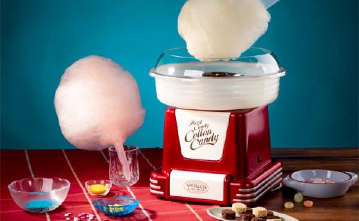 操作简单的棉花糖机,在家就能找回童年的味道