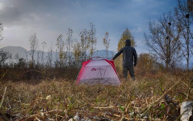 """背负热情感受山的呼唤,全新升级版""""冷山UL""""帐篷体验"""