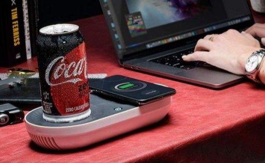 小冰箱+充电板?奇葩办公室配件上架美国亚马逊