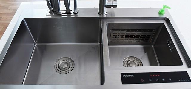 德普凯信净化水槽测评:去除顽固农残、杀菌清洗,还原食材本色