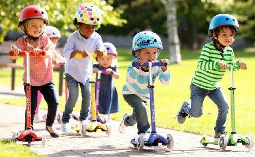 米高滑板车:专利装置转弯不摔倒,乔治小王子也在用