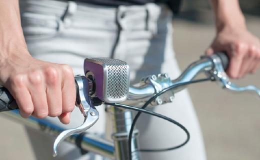 智能車鈴,能導航能防盜,自己調節鈴聲音量