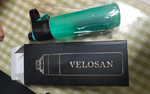 德国VELOSAN便携喷雾运动水杯试用体验