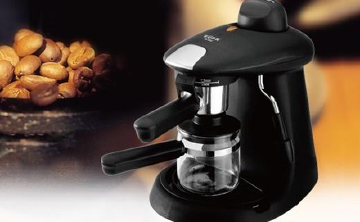 灿坤蒸汽式咖啡机:奶绿在家就能做,在不用去排喜茶了