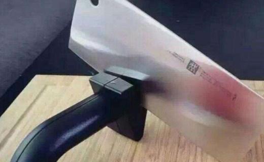 告別傳統磨刀石,這款雙立人磨刀器讓刀鋒亮澤如新