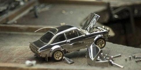 比真車還貴!英國珠寶商打造78萬超奢華車模,大燈竟是鉆石造?