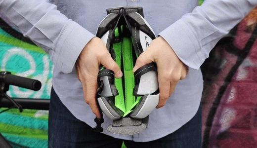 LID推全新可折叠头盔,?#21890;?#20415;携还不挑头型