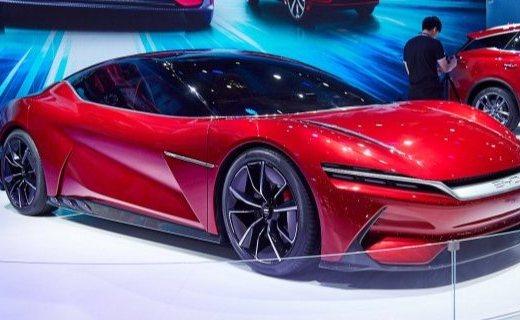 上海车展 | 比亚迪新品亮相,跑车造型狂吸睛,零百加速只需2.9秒!