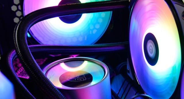 九州风神堡垒240RGBV2评测,有颜有实力,带你走进清凉光