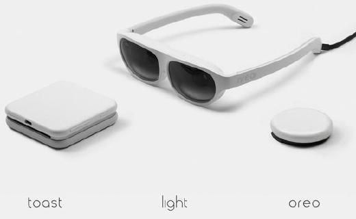 惊讶!Nrea发布AR眼镜:造型时?#26657;?#36824;是国产货
