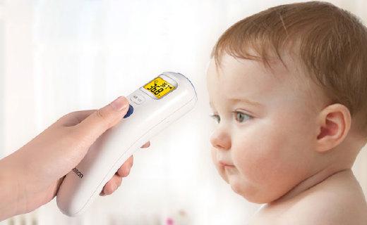 欧姆龙MC-872温度计:1秒测量,进口探头还能测量宝宝奶温