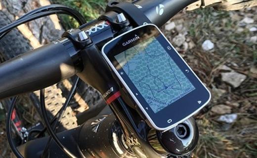 佳明Edge 520骑行码表:自动识别设定测速,骑行数据一目了然