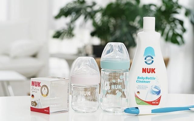 NUK自然感奶瓶——如親喂般舒適的好奶瓶