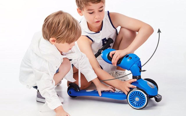 COOGHI酷騎多功能兒童滑板車