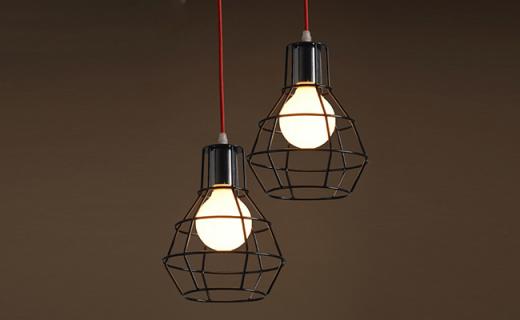 Turning复古吊灯:镂空造型复古独特,叠搭使用更出彩