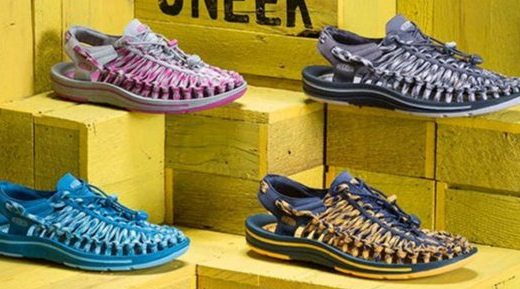 KEEN男式沙灘鞋:編制鞋面舒適貼合,時尚設計酷爽一夏