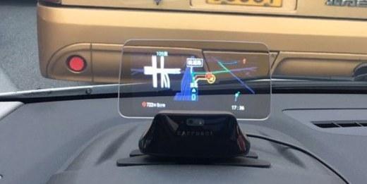 车萝卜二代HUD体验:最智能的车辆外设,一句话满足你的所有需求!