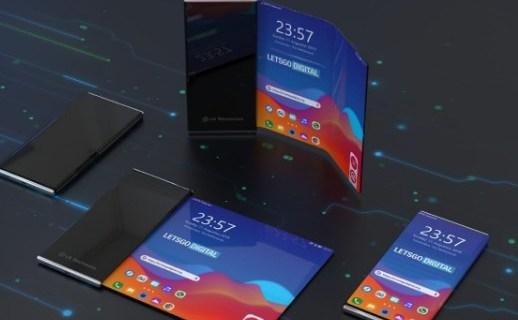 LG折疊屏手機專利曝光!采用可卷折設計,打開即是筆記本電腦