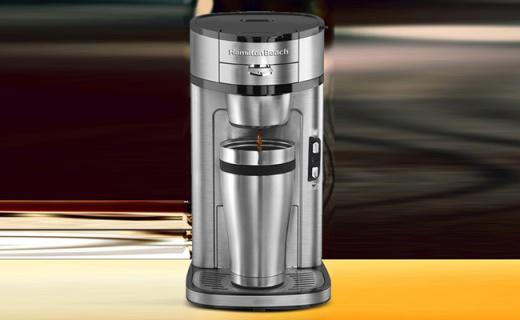 Hamilton Beach咖啡机:线圈式加热系统,轻松享受现磨咖啡