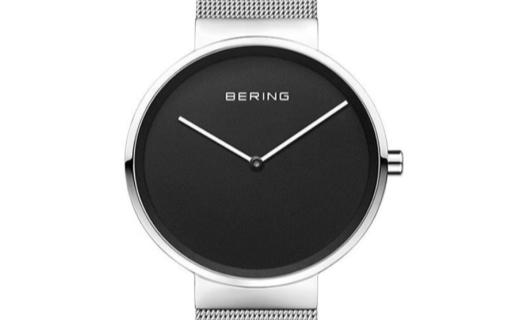 Bering石英男士手表:北歐設計大師新作,極盡簡約之美
