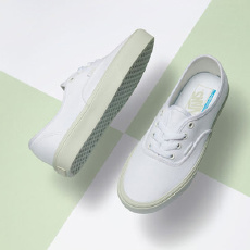 万斯(Vans) Authentic Lite 绿 滑板鞋