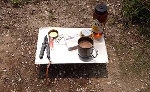 火楓FMB-913折疊桌:鋁合金材質堅固耐用,便攜小巧可折疊攜帶