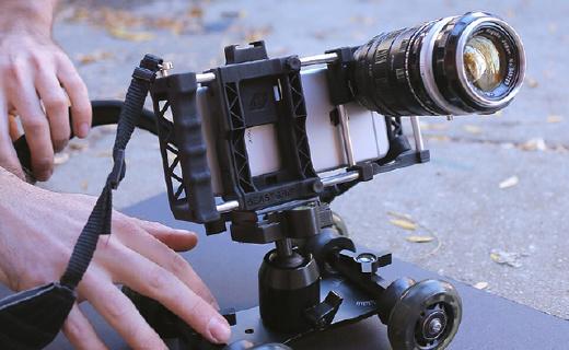 全能手机摄影扩展架,手机瞬间变专业摄像机!