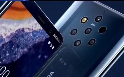 后置5摄日神仙,诺基亚 9 PureView 浴霸手机终于来了!