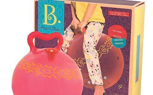 B.toys儿童健身跳跳球: 材质健康安全,绚丽色彩玩味十足