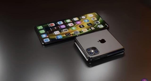 上下對折設計!蘋果折疊屏手機iPhone Filp意外曝光