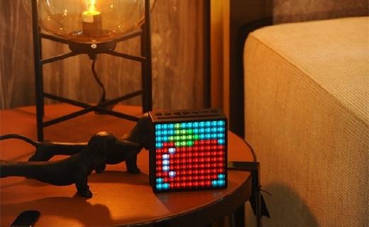 Divoom Timebox蓝牙音箱:全球热卖的表白神器,致臻音质多功能