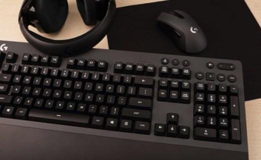 罗技 G613无线机械键盘:1ms无线低延迟技术,双模式一键切换