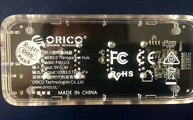 ORICO透明集线器,给你更多的桌面空间