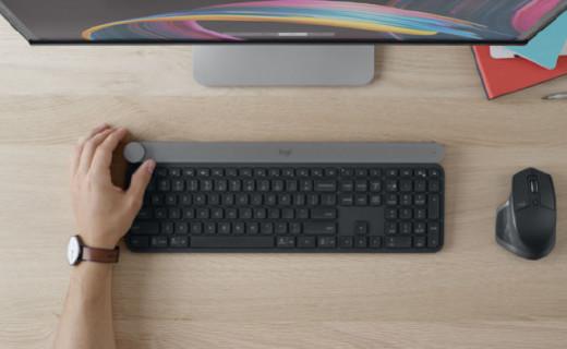 罗技Craft无线键盘:设计师专属键盘,可减一半手动操作