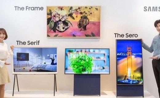 「新東西」電視還能豎著玩?三星 The Sero 可旋轉電視上架開賣