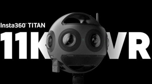 Insta360 Titan亮相CES:一款11K分辨率的八镜头VR相机!
