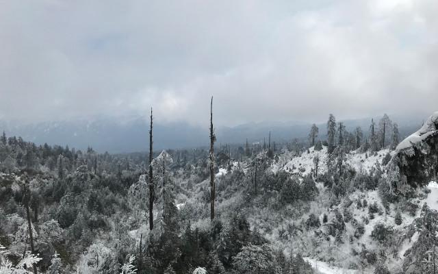高山雪地体验:防风保暖的?#20979;?#20848;冲锋衣