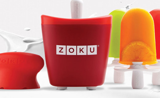 Zoku雪糕機:采用安全無毒冷凍液,7分鐘速成美味雪糕