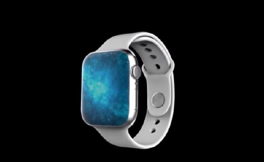 蘋果Apple Watch 6真機渲染圖曝光!新手表或將采用無邊框設計