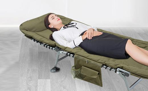 westfield outdoor折叠床:多档调节能坐能躺,席梦思般舒适