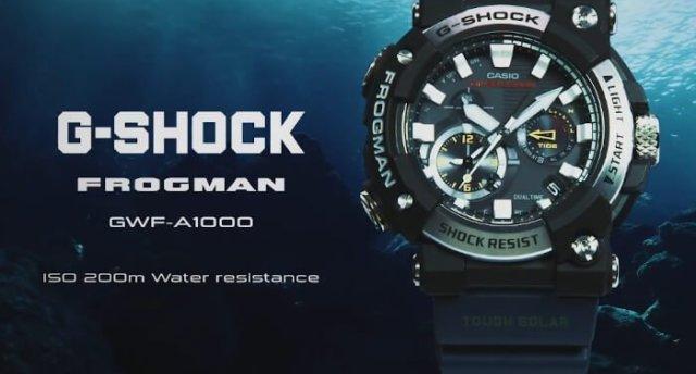 卡西歐首次推出具有模擬顯示功能的FROGMAN手表,售價5666元
