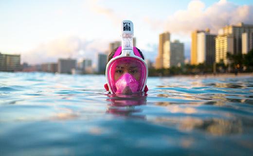 旱鴨子游泳再也不嗆水,還能讓你一覽海底風景