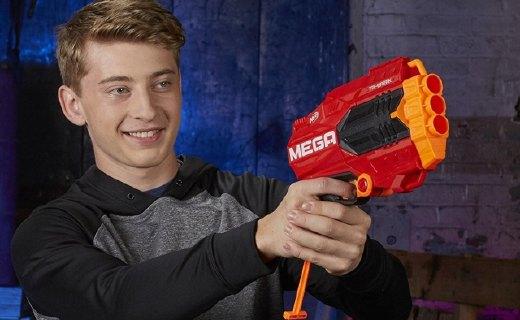 孩子宝Nerf三重发射器:6岁以上肆意玩,安全橡胶子弹材质