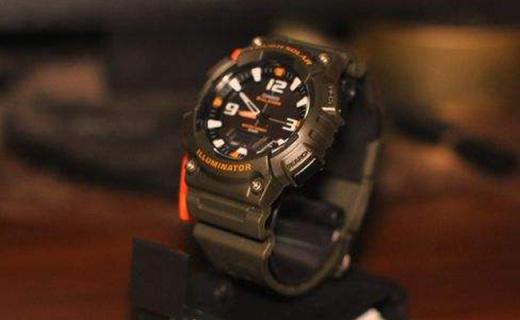 卡西歐光動能運動手表:100m防水,抗震抗摔多功能