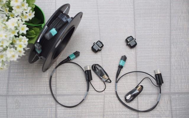 極細分體設計純光纖HDMI高清線可升級HDMI2.1開箱簡評