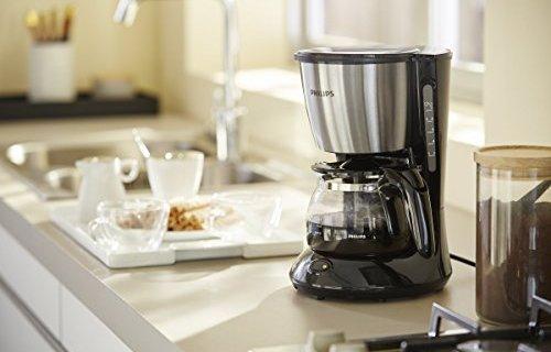 飞利浦滴滤式咖啡机:5分钟品尝浓香咖啡,可拆卸设计方便清洗